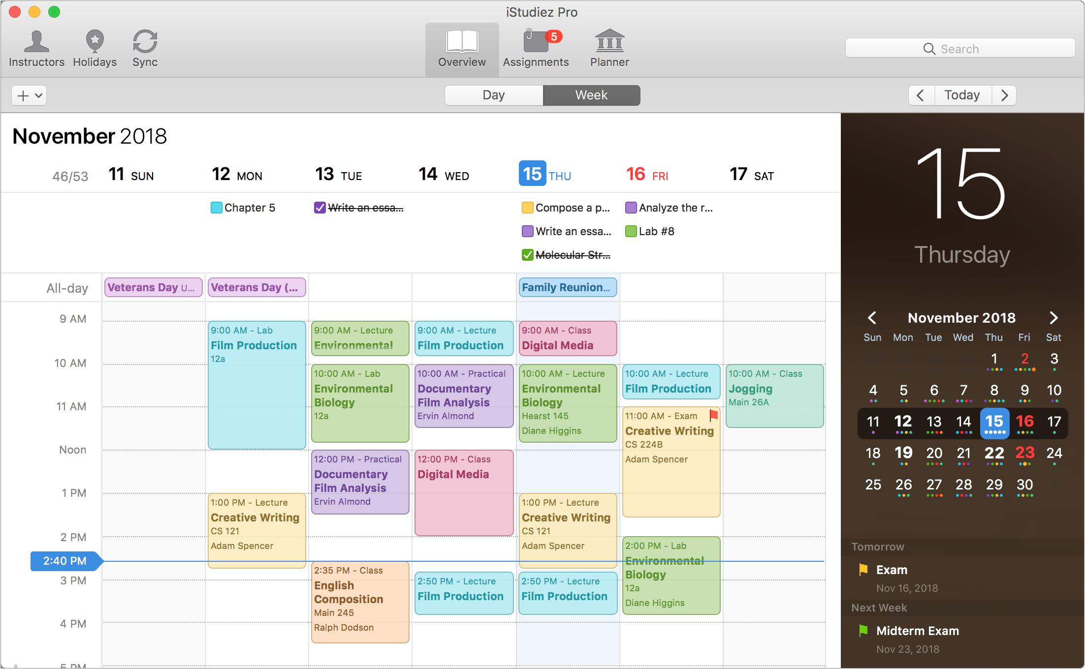 best scheduling program for mac